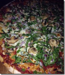 Bricks vegetarian pizza