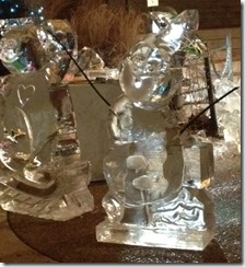 zoo loigths ice sculpture