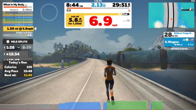 """Taking the """"dread"""" out of dreadmill: a review of the Zwift"""